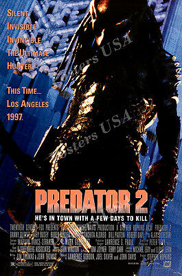 Posters USA - Predator 2 Alien Movie Poster Glossy Finish - MOV784