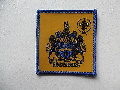 Heidleberg District Australian Scout Embroidered Cloth Badge