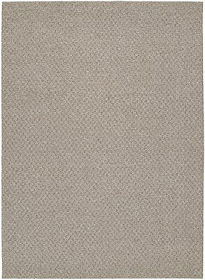 Garland Rug Town Square Area Rug, 7-Feet 6-Inch by 9-Feet 6-Inch, Pecan