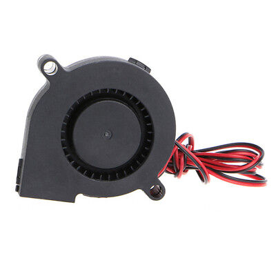 DC 12V 50mm Cooling Fan Blow Radial Hotend / Extruder For RepRap 3D Printer Ne