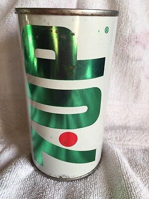 Vintage 7UP The Uncola Wet & Wild Steel Soda Pop 12oz Can Detroit