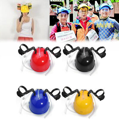 New Drinking Helmet Beer Cola Hat Drink Cap Holder fr 2014 FIFA Brazil World Cup