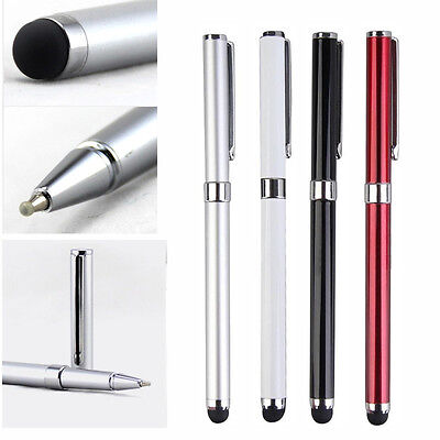 2 in 1 Capacitive Touch Screen Stylus Ballpoint Pen Pop for Tablet Smart phone