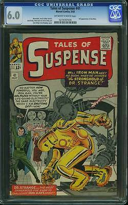 Tales of Suspense # 41  3rd appearance of Iron Man !  CGC 6.0  scarce book !
