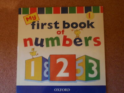 'My First Book of Numbers' Book for Children