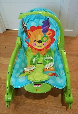 Fisher Price baby rocking chair - Lion
