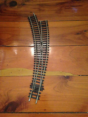 Peco ST245 Left Hand Curved Point HO Track