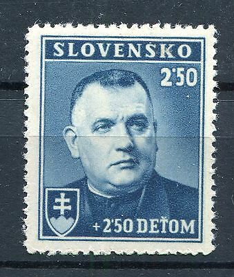 Slovakia Ww2 German Puppet State 1939 President Tiso Scott B1 Perfect Mnh