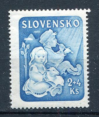 Slovakia Ww2 German Puppet State 1944 Youth & Children Scott B27 Perfect Mnh