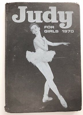 JUDY FOR GIRLS 1970 - Vintage / Retro Comic Annual *