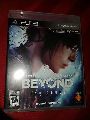 Mint disc and case PS3 Beyond: Two Souls (Sony PlayStation 3, 2013)