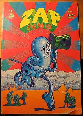 ZAP COMIX No. 4 First Printing