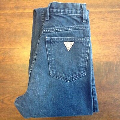 VINTAGE GUESS George's Marciano High Waisted Mom Jeans 27