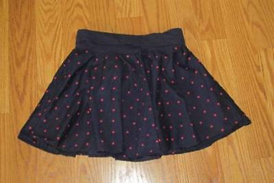 CUTE GYMBOREE GIRL'S LINED HEART SKIRT Size 10 BACK TO SCHOOL