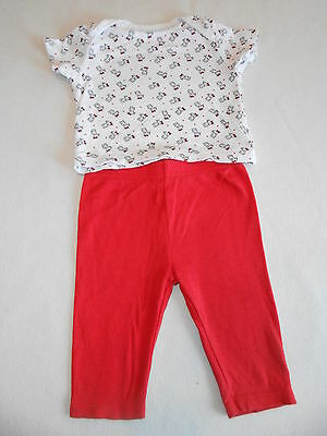 Baby Girls Clothes 6-9 Months - Cute  Pyjamas -