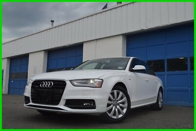 2015 Audi A4 2.0T Premium  Line Heated Leather Seats Power Moonroof Automatic Bluetooth 18,000 Miles Save