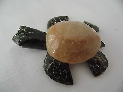 """Baby Turtle 2 1/2""""  Hand Carved Made in Mexico"""