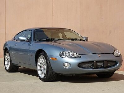 2002 Jaguar XKR XKR COUPE 2002 JAGUAR XKR COUPE LOW MILEAGE CARFAX CERTIFIED! INCREDIBLY RARE! LOADED!!