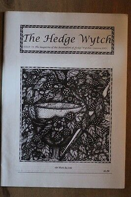 The Hedge Witch magazine issue No15 Pagan, Wiccan, Witchcraft