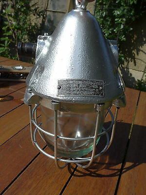 "alte ""EOW"" Ex-Lampe Bunkerlampe Fabriklampe Industrielampe TOP !!!"