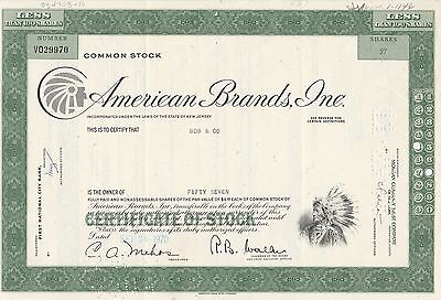 Mds Usa American Brands, Inc. Less Than 100 Shares 1970 Common Stock