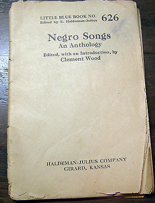 Negro Songs: An Anthology (1924), Interesting Little Booklet