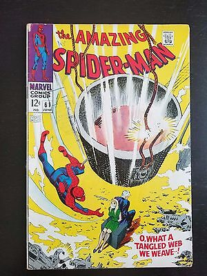The Amazing Spider-Man #61 (Jun 1968, Marvel)