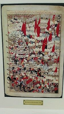 """""""The March of the ottoman army"""" minature from the OTTOMAN EMPIRE collection"""