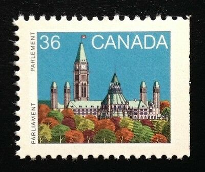 Canada #926Bcs Right RP MNH, Parliament Buildings Definitive Booklet Stamp 1987