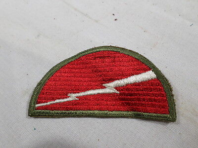 WWII VINTAGE US Army 78th Infantry Division Patch NICE WEAVE GEMSCO