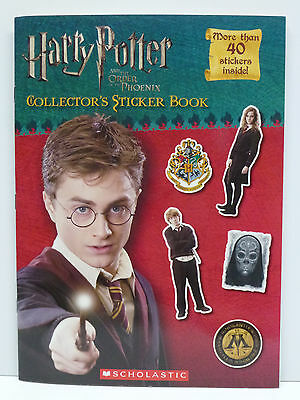 Harry Potter & the Order of the Phoenix Deluxe Movie Sticker Book by Scholastic
