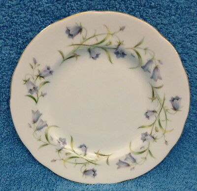 DUCHESS ENGLAND HAREBELL SIDE PLATE BLUE BELL FLOWERS more instore