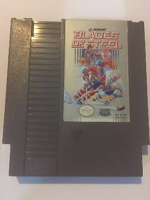 Blades Of Steel Nintendo Nes Game  Cartridge Rare Original Tested And Cleaned