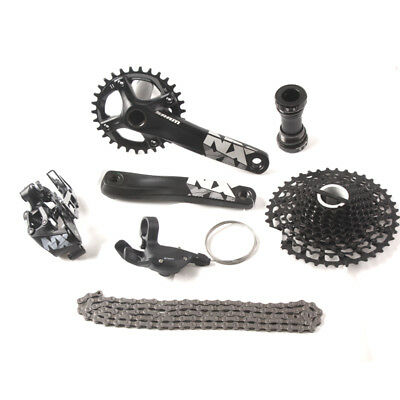 SRAM NX 1x11 11S Speed Groupset MTB Kit Bicycle Derailleur Cycling Parts 175mm