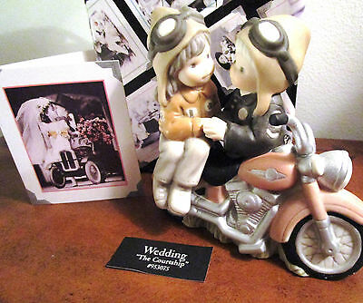 Kim Anderson Paap #953075 The Courtship - Girl & Boy On Motorcycle - New
