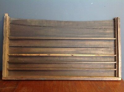 Vintage Wooden Print Tray Drawer