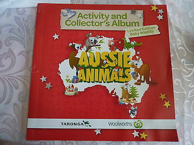 Woolworths Aussie Animals COMPLETE Cards And Album VERY GOOD Condition Free Post