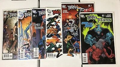 Teen Titans 2003 3rd Series Run 42-60 Plus 23 Issues