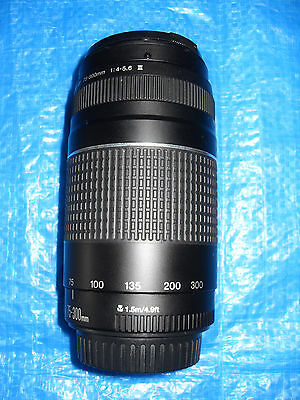 CANON 75-300mm ZOOM LENS - EXCELLENT CONDITION