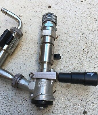 Micro Matic Keg Coupler CUB Style, Valves, micro matic Connections,Homebrew, Pub
