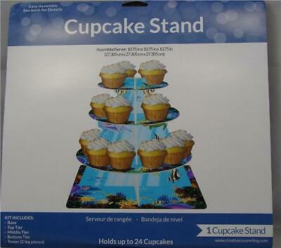 Ocean Party Three Tier Cup Cake Stand Birthday Party Display Wedding