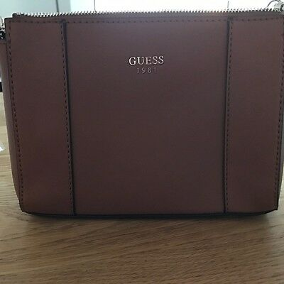 Ladies GUESS brown crossbody brand new