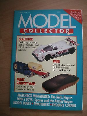 Model Collector Magazine - April/may 1988