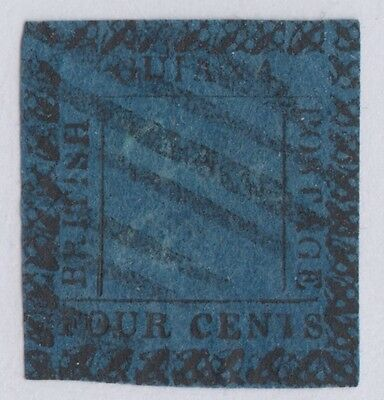 British Guiana Sg 123Ba Variety 1 For I In British Rare Stamp ! Bpa Opinion
