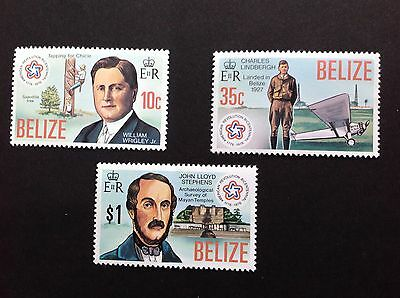 Belize 1976 Sg439/441 American Revolution Set Of 3 MNH