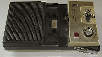 Vintage 1970's CRAIG 2603 Control Solid State Portable Cassette Recorder Player