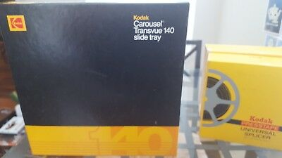 Kodak carousel transvue 140 slide tray with instructions, box in good condition!