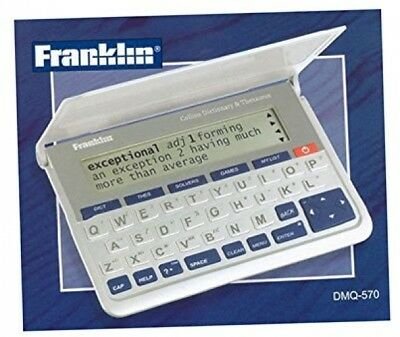 Franklin DMQ 570 Pocket Collins Dictionary And Thesaurus