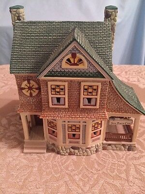 Dept 56 Seasons Bay *the Side Porch Cafe* Retired