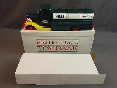 1985 Hess '33 Chevy Delivery Truck Bank Tested & Working In Original Box